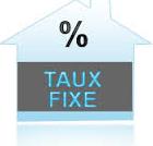 Les prets à taux fixe sont trés intéressants pour les acquéreurs de biens immobiliers.